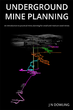 Jim Dowling's mine planning book front cover